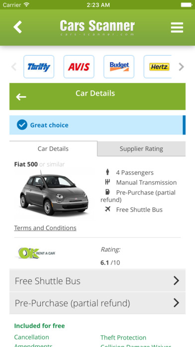 Rental Car Sites With Free Cancellation
