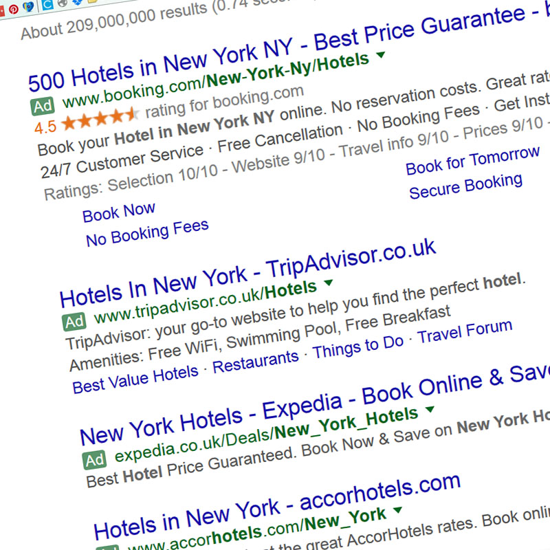 Google rolls out green ad labels on search results   Cosmic