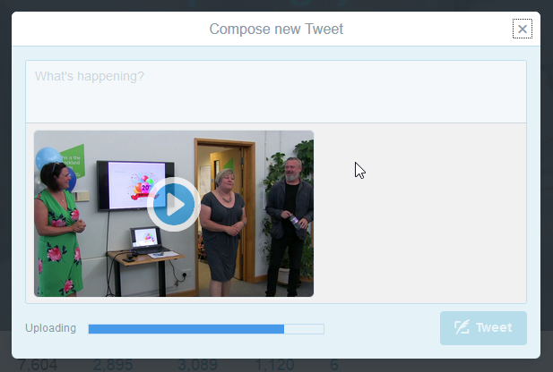 How to upload video to Twitter | Cosmic