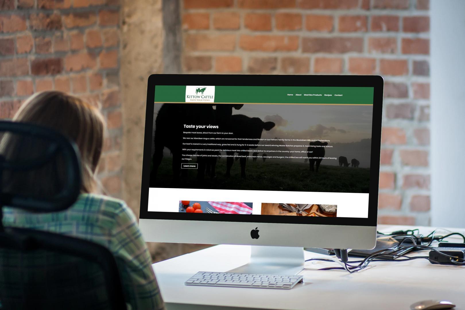 Kittow Cattle website