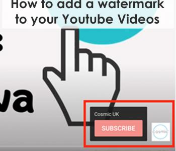 How to add a watermark to your Youtube Videos